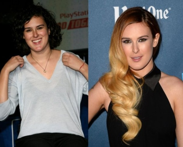 Rumer Willis looking great after plastic surgery