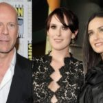 Rumer Willis with Demi Moore and Bruce Willis 150x150