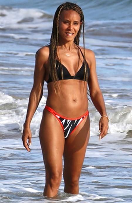 Jada Pinkett Smith looking great at 42