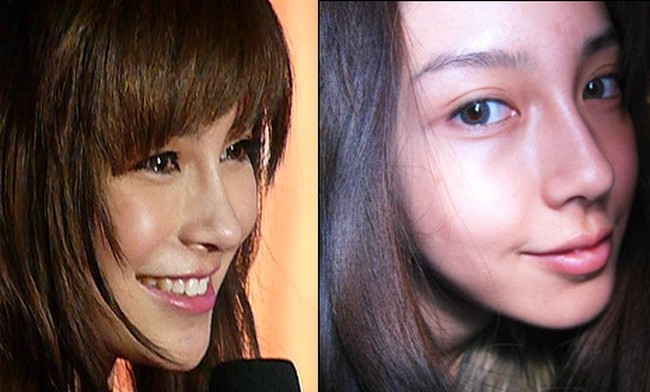Angelababy before and after