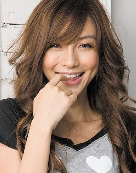 Angelababy smile