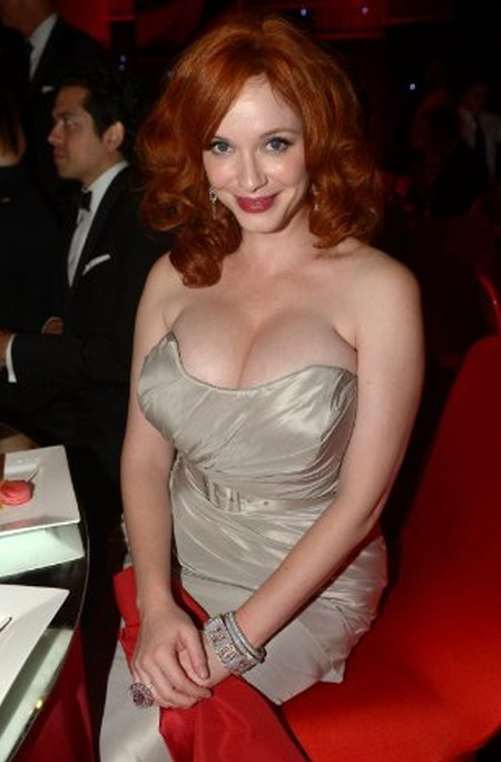 Christina Hendricks good plastic surgery