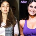 Kareena Kapoor before and after breast implants