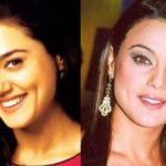 Preity Zinta before and after nose job 150x150