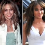jennifer lopez boob job before and after