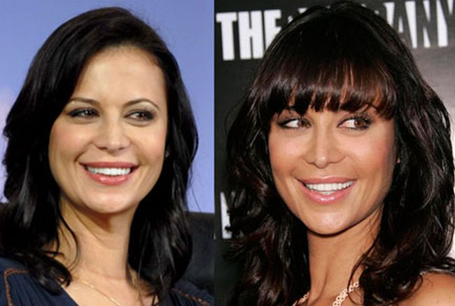 Catherine Bell nose disaster