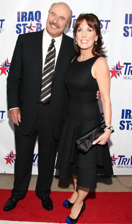 Dr. Phils wife Robin McGraw