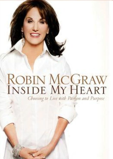 Robin McGraw before plastic surgery Inside my heart cover 446x630