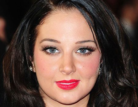 Tulisa Contostavlos after plastic surgery