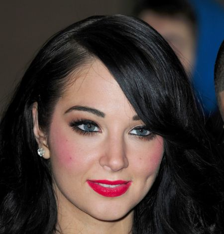 Tulisa Contostavlos before plastic surgery