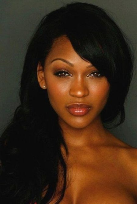 Meagan Good Plastic Surgery cheek implants
