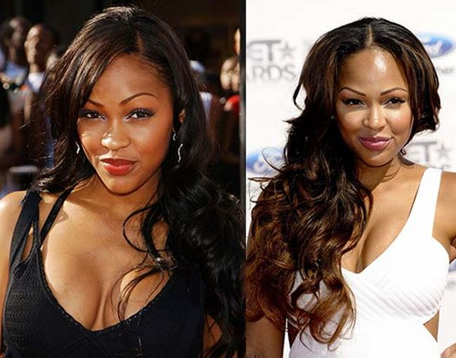 Meagan Good Facial Appearance