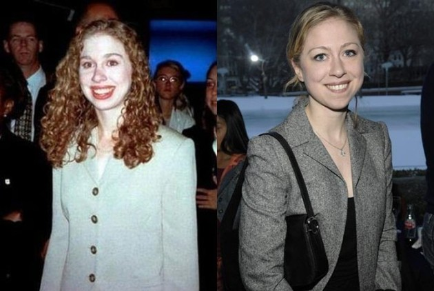 Facial feature changes in chelsea clinton, anal teen tryouts dvd cover