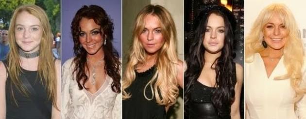 Lindsay Lohan Bad Surgery Transformation