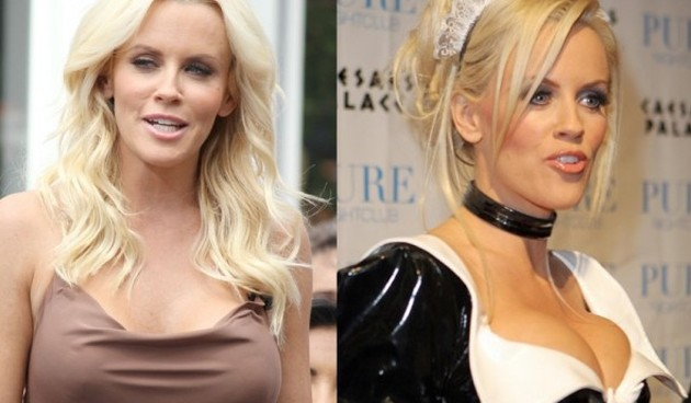 After Plastic Surgery Jenny McCarthy's Breasts Look Unnaturally Large And Round