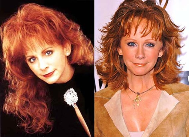 Reba McEntire Before And After Pictures