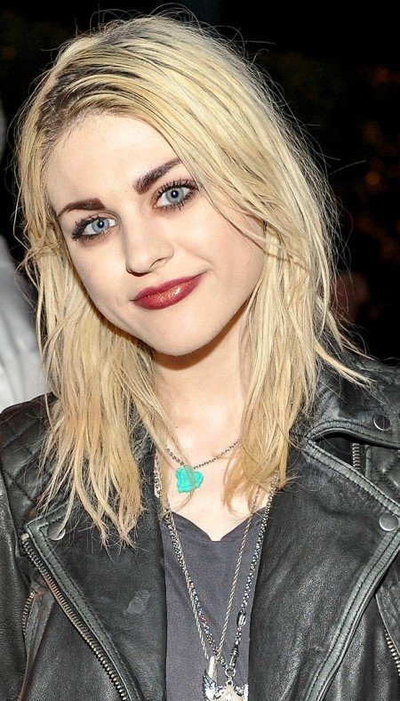 Frances Bean Cobain Lip Filling