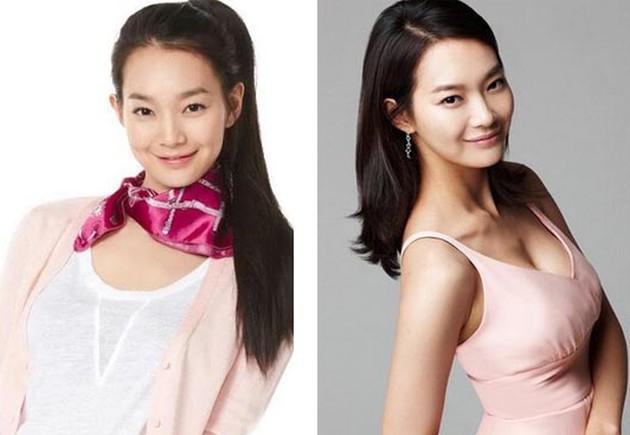 Shin Min Ah Before And After Boob Job