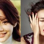 Shin Min Ah Before And After Nose Job