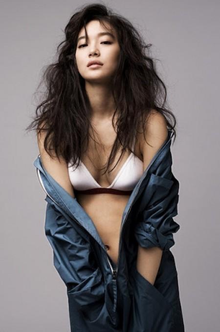 Shin Min Ah Before Breast Augmentation Procedures