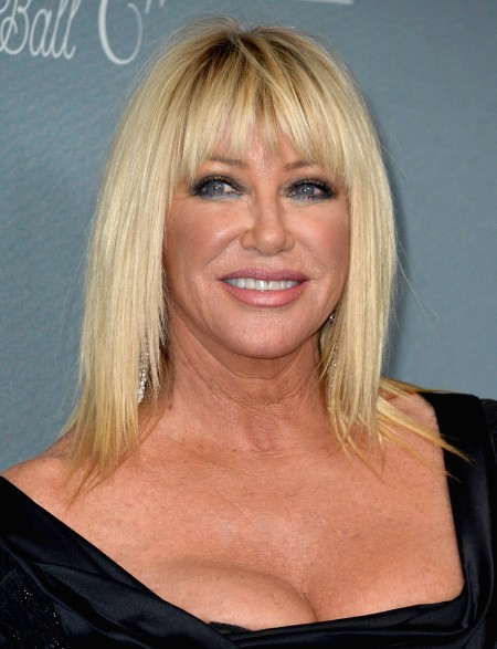 Suzanne Somers after plastic surgery