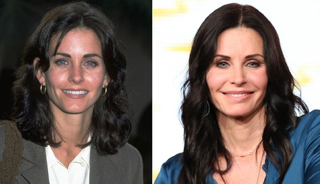 Courteney Cox Before And After Pictures