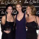 Jennifer Aniston, Courteney Cox, Lisa Kudrow from Friends Sitcom