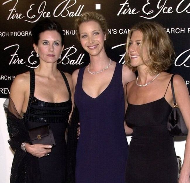 Jennifer Aniston, Courteney Cox, Lisa Kudrow from Friends Sitcom
