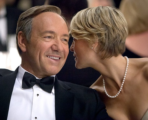 Robin Wright and Kevin Spacey House of cards