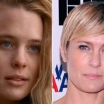 Robin Wright before and after transformation