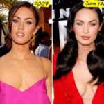 Megan Fox before and after breast implants