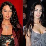 Megan Fox breast implants before and after 150x150