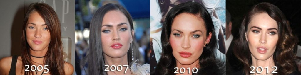 Megan Fox transformation