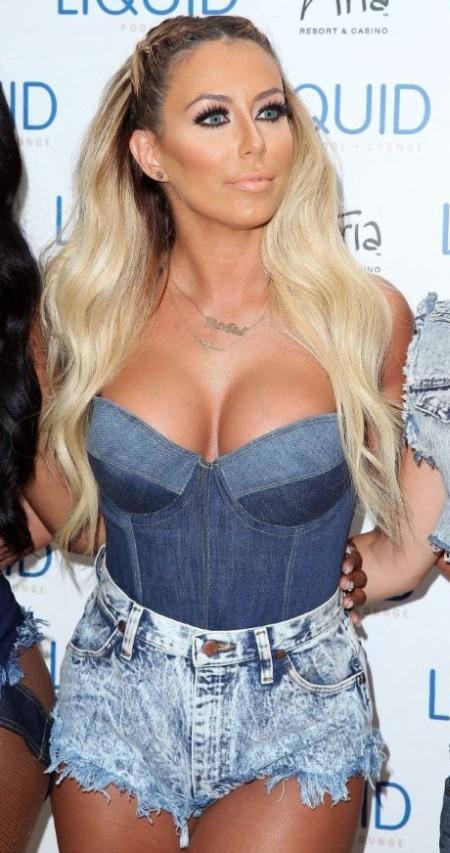 Aubrey after breast augmentation