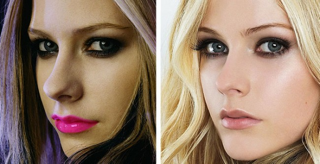 Avril Lavigne Nose Job Plastic Surgery