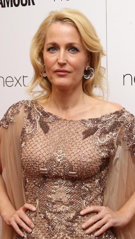 Gillian Anderson after plastic surgery