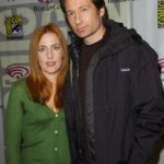 Gillian Anderson and David Duchovny X Files 150x150