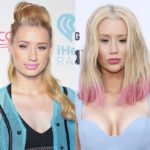 Iggy Azalea breast implants before and after
