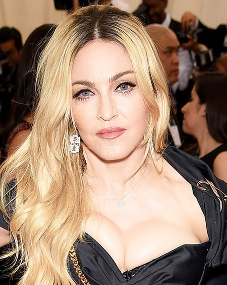 Madonna after plastic surgery in 2015