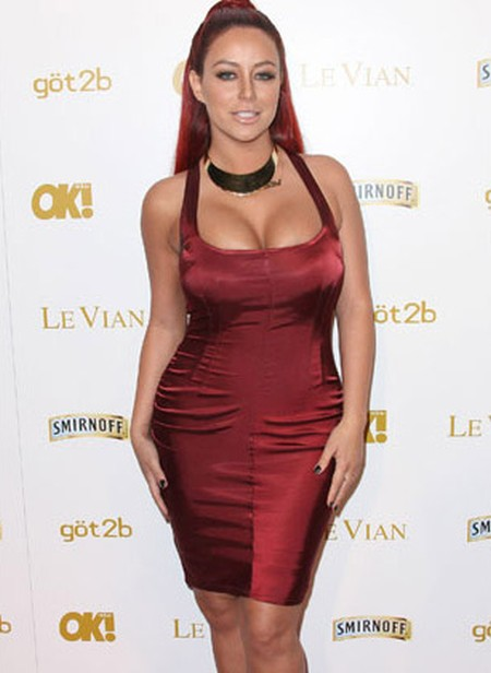 aubrey oday looking great with breast implants