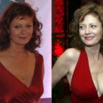 Susan Sarandon before and after boob job 150x150
