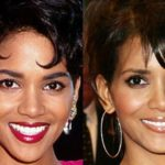 halle berry nose job plastic surgery before and after
