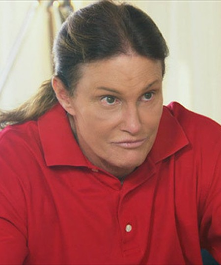 Bruce Jenner between man and woman
