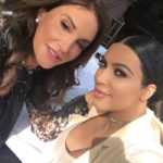 Caitlyn Jenner after plastic surgery with Kim Kardashian 150x150