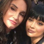 Caitlyn Jenner after plastic surgery with Kylie Jenner