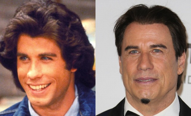 John Travolta Before and After