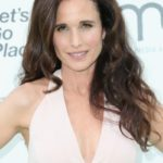 Andie MacDowell after plastic surgery