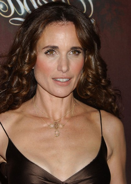 Andie MacDowell before and after facelift