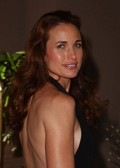 Andie MacDowell before and after