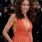 Andie MacDowell  boobs job plastic surgery